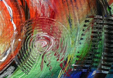 KABREBU ART Abstrakt Modern Gemälde Original Acryl Bilder ...